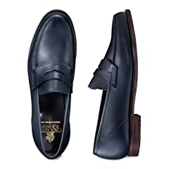Richmond: Navy Cotswold Grain