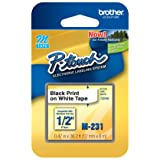 Brother Genuine P-touch M-231 Tape, 1/2
