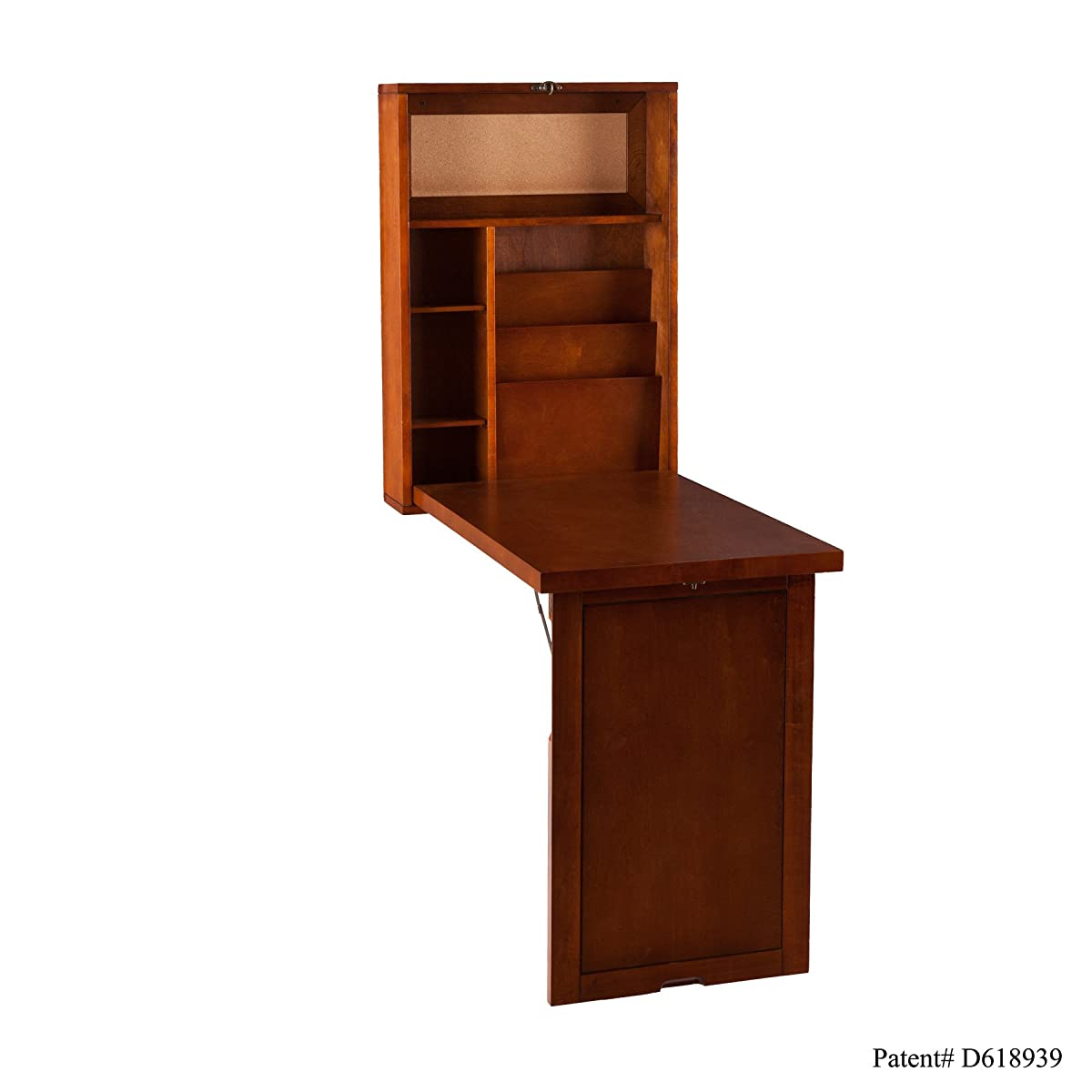 Fold-Out Convertible Desk - Walnut