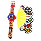 BeyBlade. Watch With Projector,Children Watch,Multi Projector Watch,Official Licensed. (Color: Multicolor)