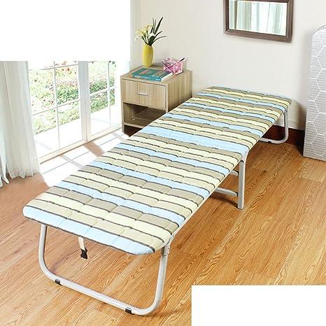 Cama plegable para adultos/cama sencilla/cama individual/cama de campamento/cama de la siesta/la cama de almuerzo de oficina/cama de acompañante/cama de madera-B