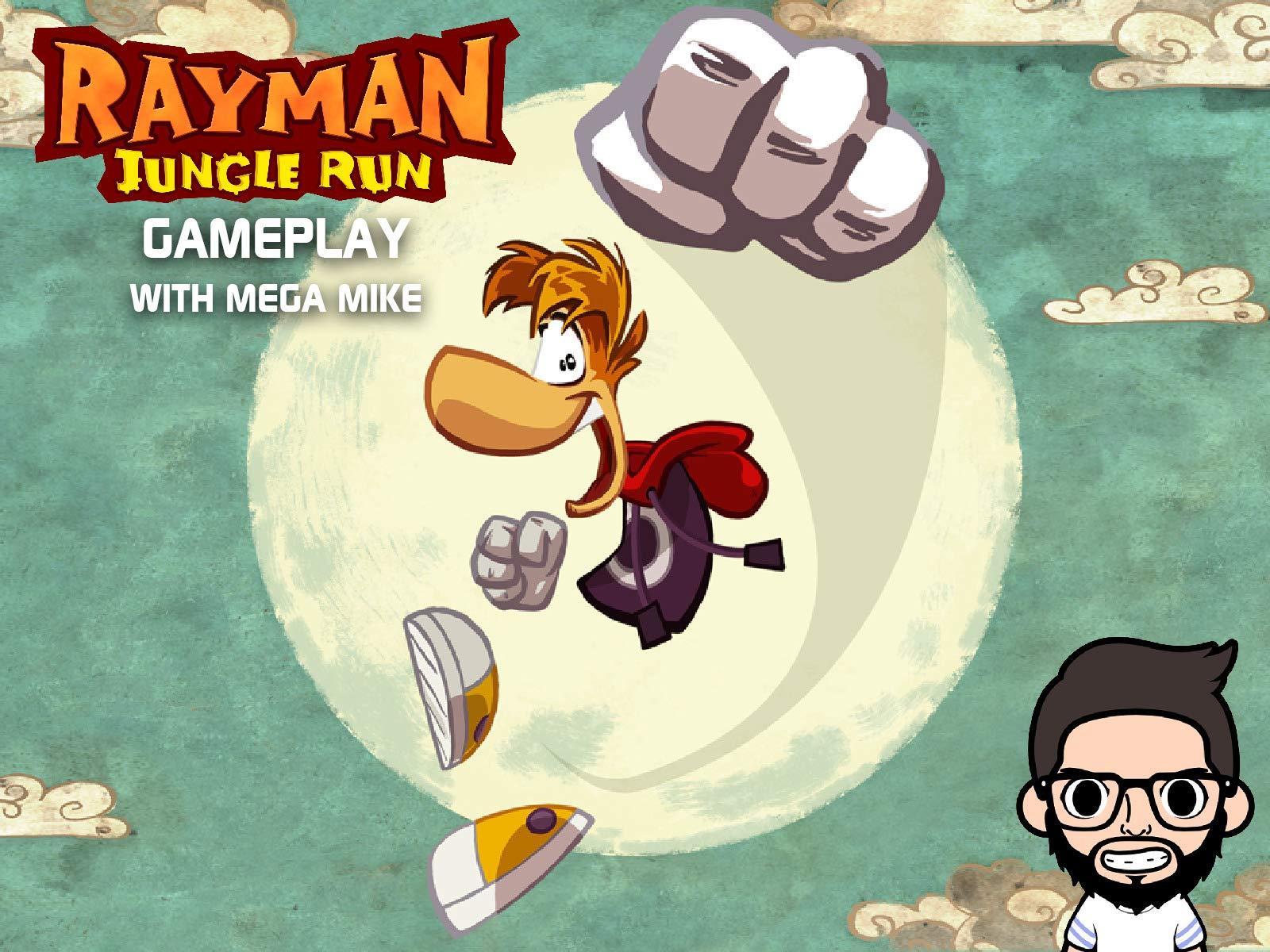 Clip: Rayman Jungle Run Gameplay With Mega Mike - Season 1