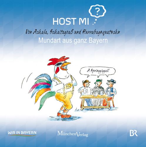 Host mi? Von Achala, Schaitagoa� und Hurrabagsquatschn - Mundart aus ganz Bayern