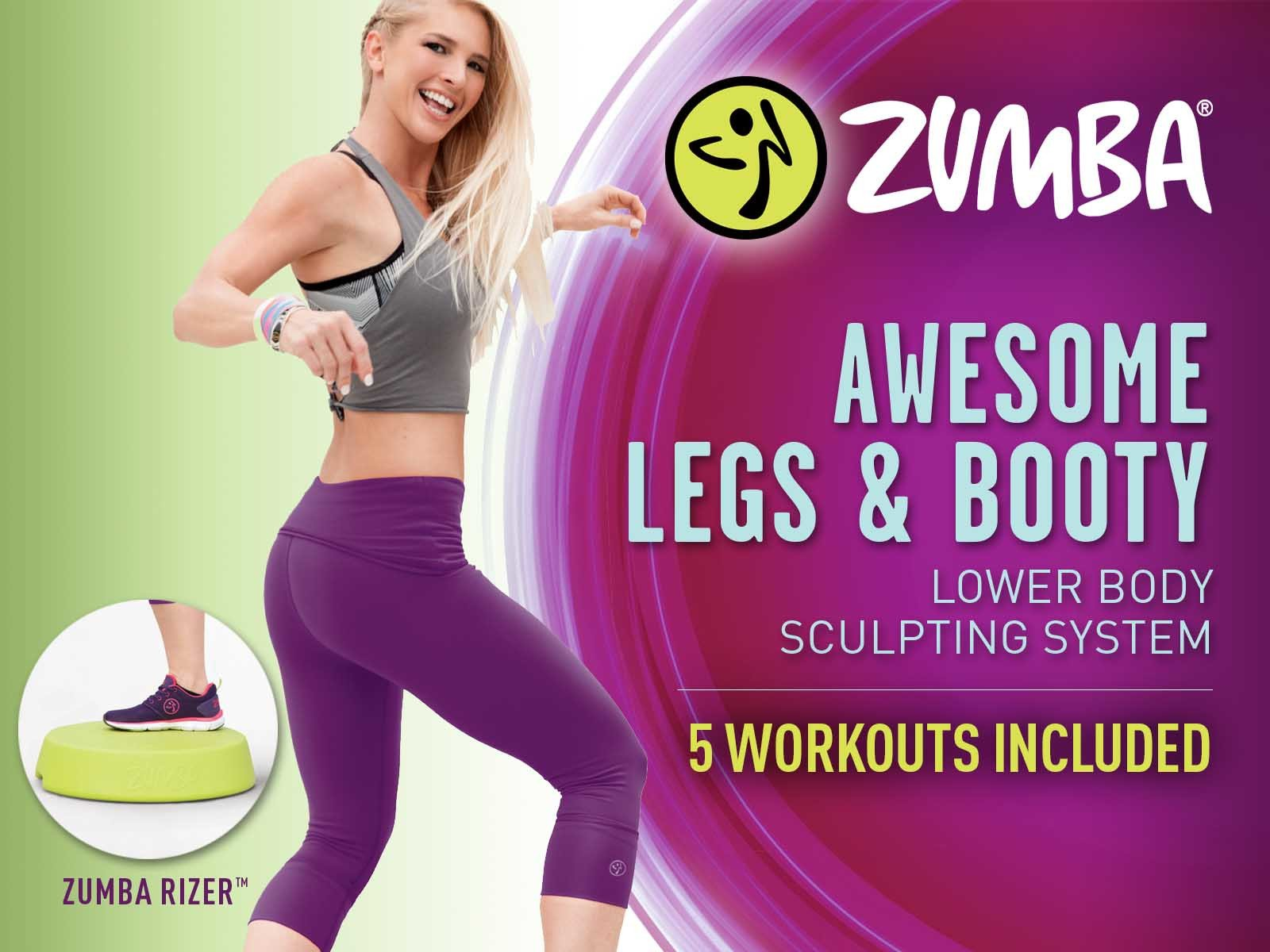 Zumba Awesome Legs & Booty System - Season 1