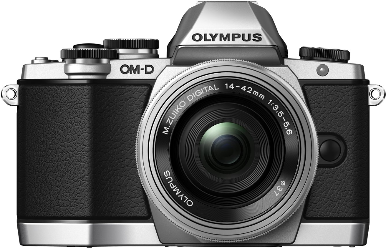 Digital Cameras OLYMPUS EM10 SILVER 16MPIXELS KIT 14-42MM EZ