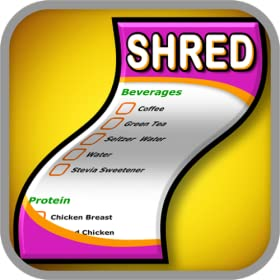 Shred Diet Shopping List