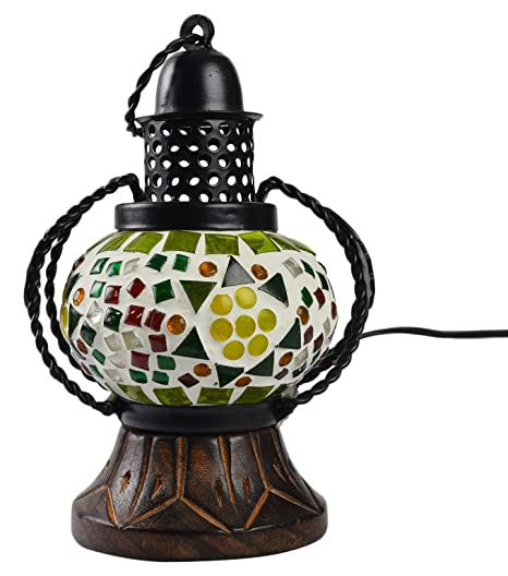 Glass Table Lantern Lamps For Living Room Hanging