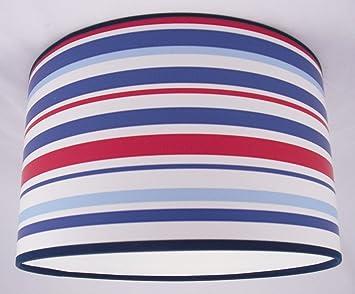 abat jour fait main 41cm 41cm arthouse op ra bleu cuisine maison o265. Black Bedroom Furniture Sets. Home Design Ideas