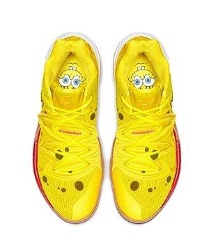 Nike Kyrie 5 (GS) SBSP Spongebob in Yellow Size 1Y (Color