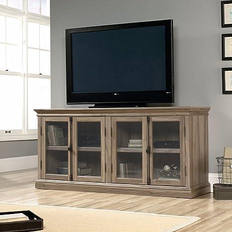 Sauder Barrister Lane Storage Credenza TV Stand - Salt Oak
