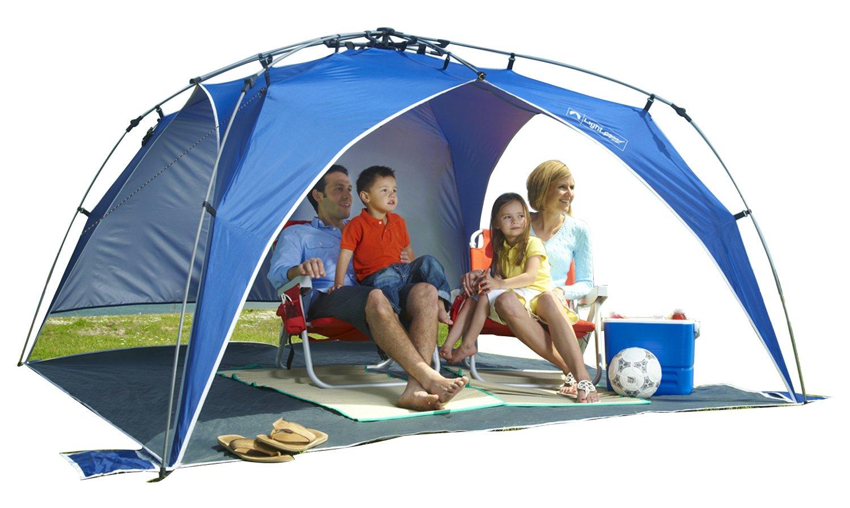 Pop Up Sun Shelter For Beach : Portable beach canopy tent pop up umbrella sun shelter