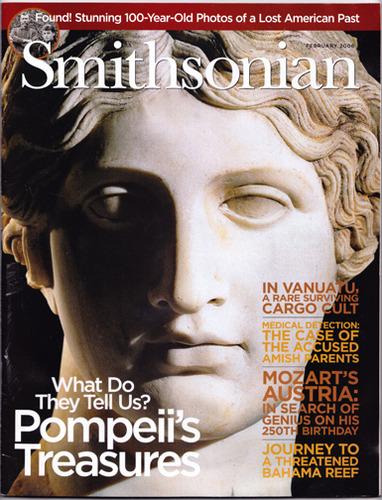 Smithsonian Magazine (February 2006, Vol. 36, No. 11) [cover story: Resurrecting Pompeii], Winfrey, Carey (editor)