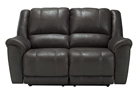 Niarobi Gray Reclining Loveseat
