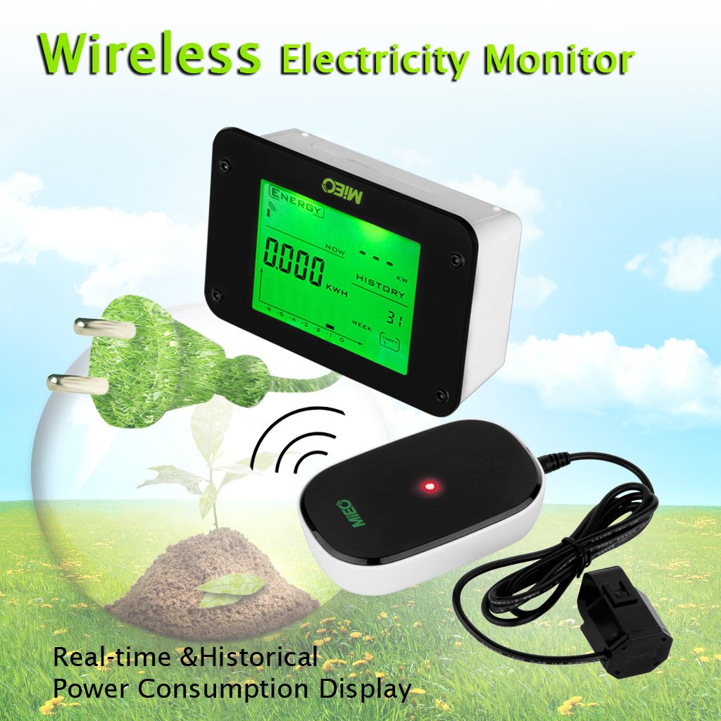 Floureon Wireless Electricity Monitor