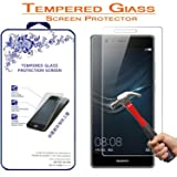 Huawei P9 Plus Tempered Glass, Nacodex 9H 0.3mm Premium Tempered Glass Screen Protector for Huawei Ascend P9 Plus (Color: For Huawei Ascend P9 Plus)