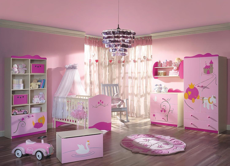 Schlafzimmer-Set Kindermöbel 'Prinzessin' Jugendzimmer komplett Kinderzimmer online kaufen