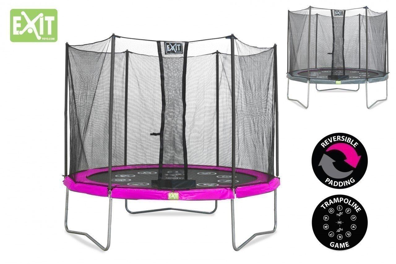 Exit Trampolin TWIST 305cm pink und grau 12.92.10.00 kaufen