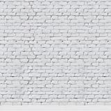 KonPon 8x8ft Seamless White Brick Wall Backdrop for Photography Brick Backdrop Photo Props Brick Paper Background KP-248 (Color: 8, Tamaño: 8x8ft(2.5x2.5m))