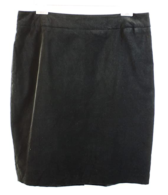 Jones New York Deep Women's Velour Straight Lucy Skirt
