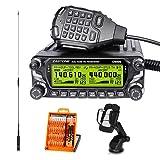 Zastone D9000 Dual Band Mobile Radio 50W 512-Channel UHF/VHF Mobile Ham Transceiver Car Ham Amateur Radio (Color: Black)