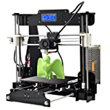 2017 Upgraded Quality High Precision Reprap Prusa i3 DIY 3d Printer Anet A8 3D Printer (Color: Black 3D Printer)