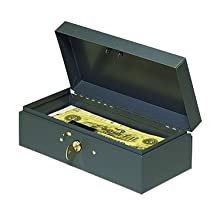 STEELMASTER Locking Steel Bond Box, Includes Keys, 10.25 x 2.88 x 4.75 Inches, Gray (2212CBGY)