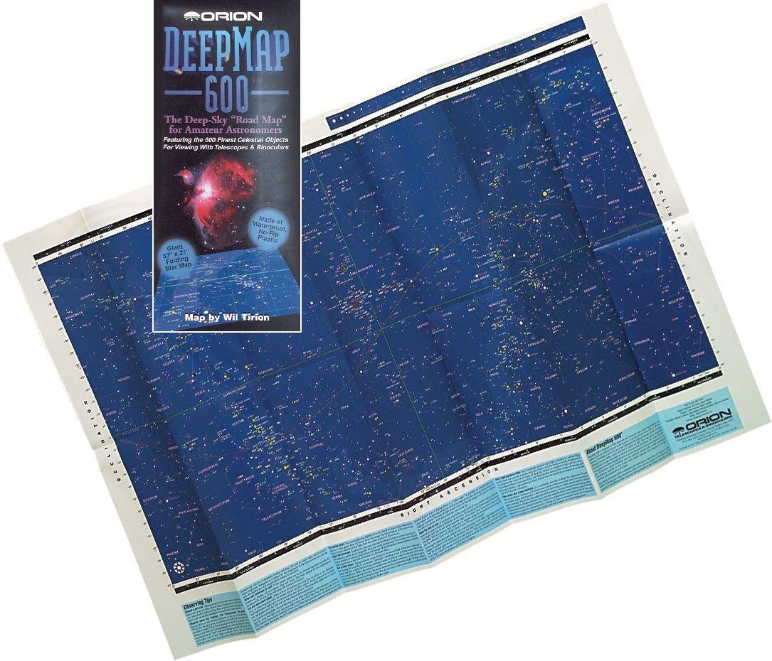 Mapa estelar plegable Orion DeepMap 600  Electrónica Comentarios y más información