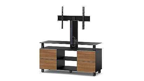 Sonorous TRN3214 B-WNT Walnuß TV-Möbel fur 50 Zoll Fernseher, Holz, braun, 45 x 120 x 60 cm