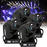 Ridgeyard 4 PCS RBG Moving Head Light Stage Party Disco Club Spot Lighting (4 X 230w) (Color: 4PCS, Tamaño: 4 X 230w)