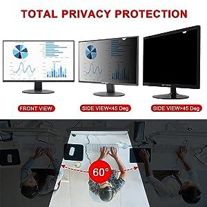 Magicmoon Privacy Filter Screen Protector, Anti-Spy&Glare Film for 23.6 inch Widescreen Computer Monitor (23.6'', 16:9 Aspect Ratio) (Tamaño: 23.6 Widescreen (16:9))