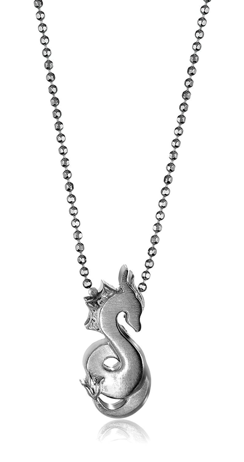 Alex Woo Sterling Silver Cute Dragon Pendant