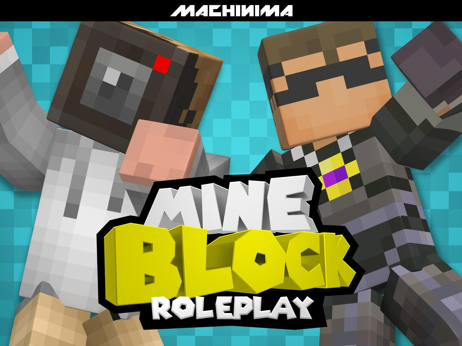 Clip: Mine Block: Roleplay on Amazon Prime Video UK