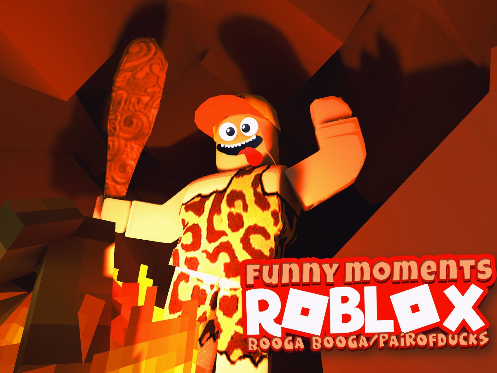Roblox Booga Booga (PairofDucks Funny Moments)