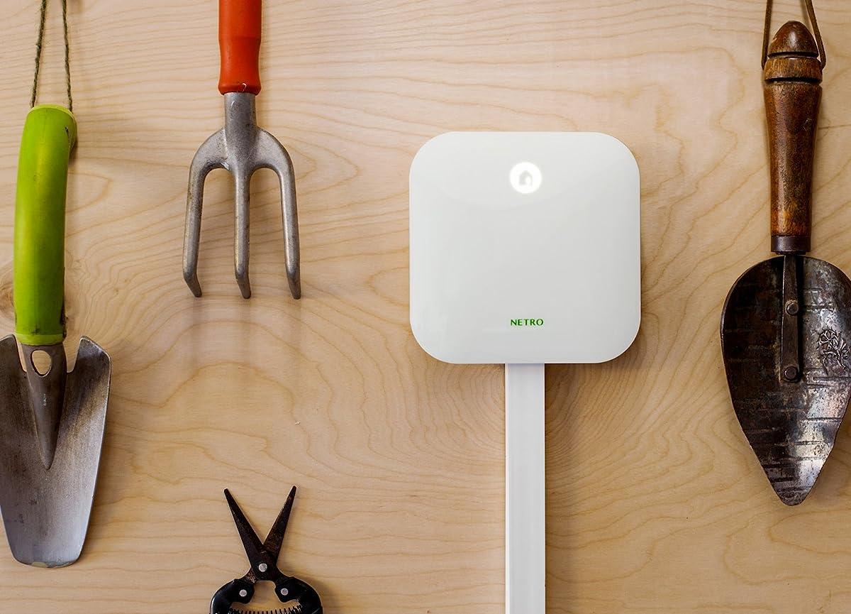 Netro Smart 12-Zone WiFi Sprinkler Controller, Weather aware, Remote control, Works with Amazon Alexa