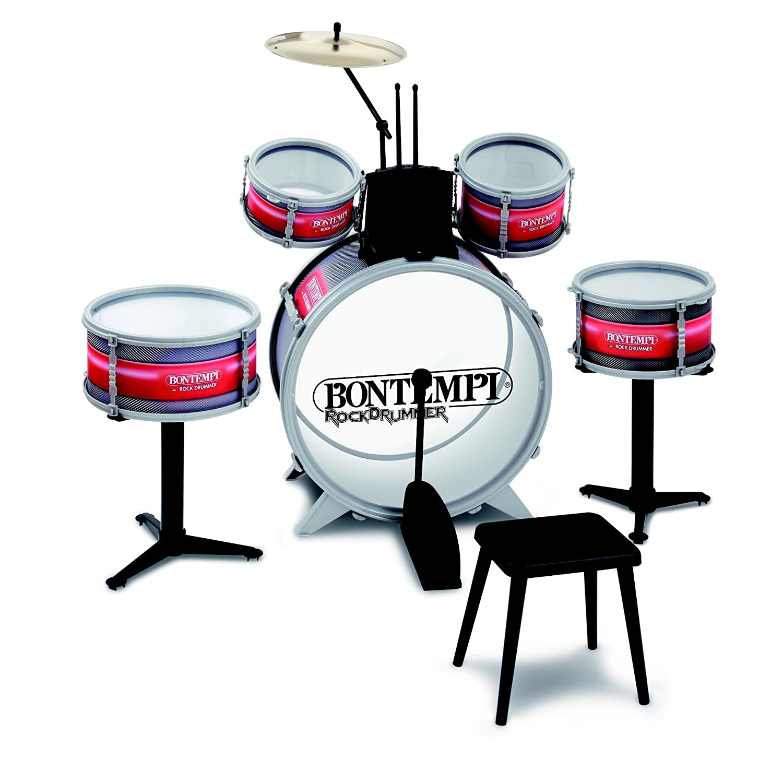 strumento musicale bontempi jd 4820 strumento musicale per bambini batteria rock drummer. Black Bedroom Furniture Sets. Home Design Ideas