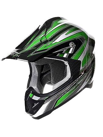 Casque Motocross Stealth 2015 HD203 Edge Vert