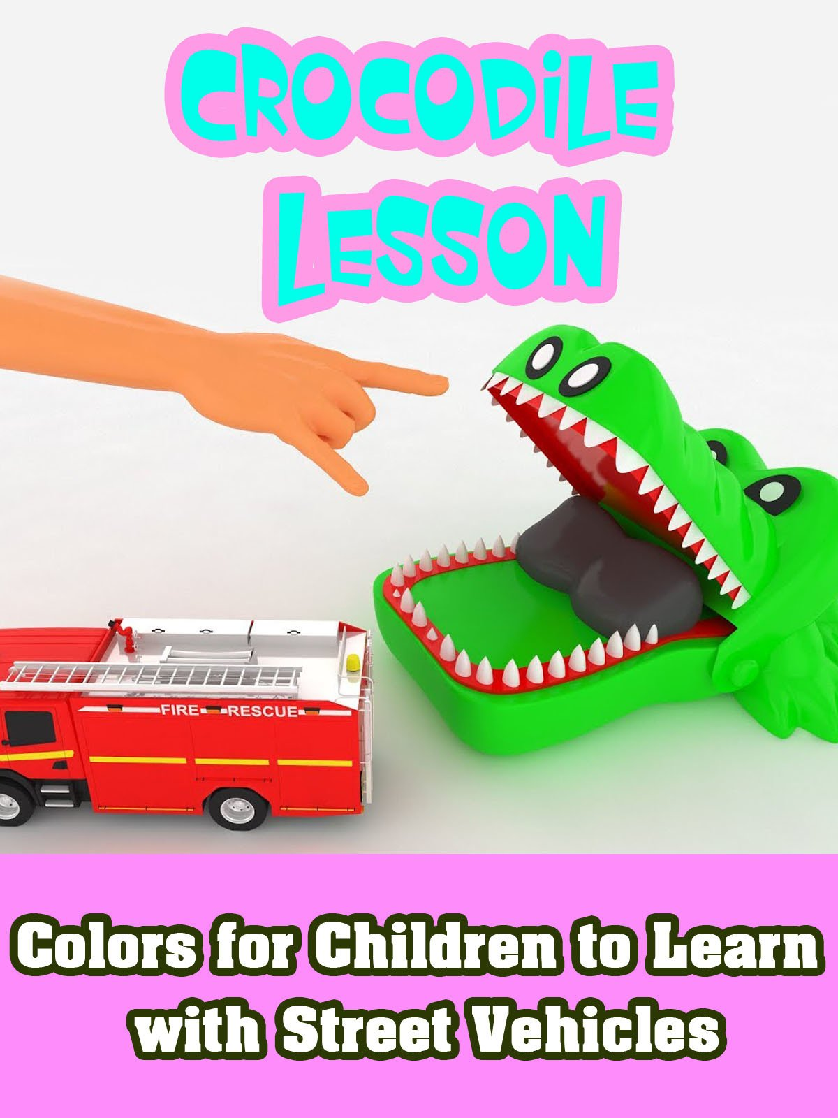 Colors for Children to Learn with Street Vehicles