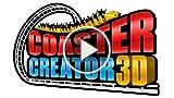 CGR Undertow - COASTER CREATOR 3D Review For Nintendo...