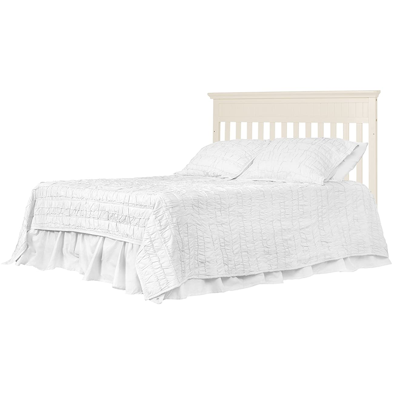 Dream On Me Chesapeake 5-In-1 Convertible Crib, French White 5