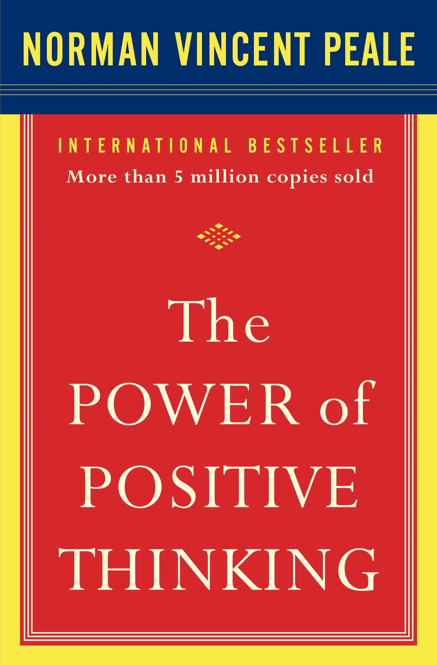 The Power of Positive Thinking ISBN-13 9780743234801