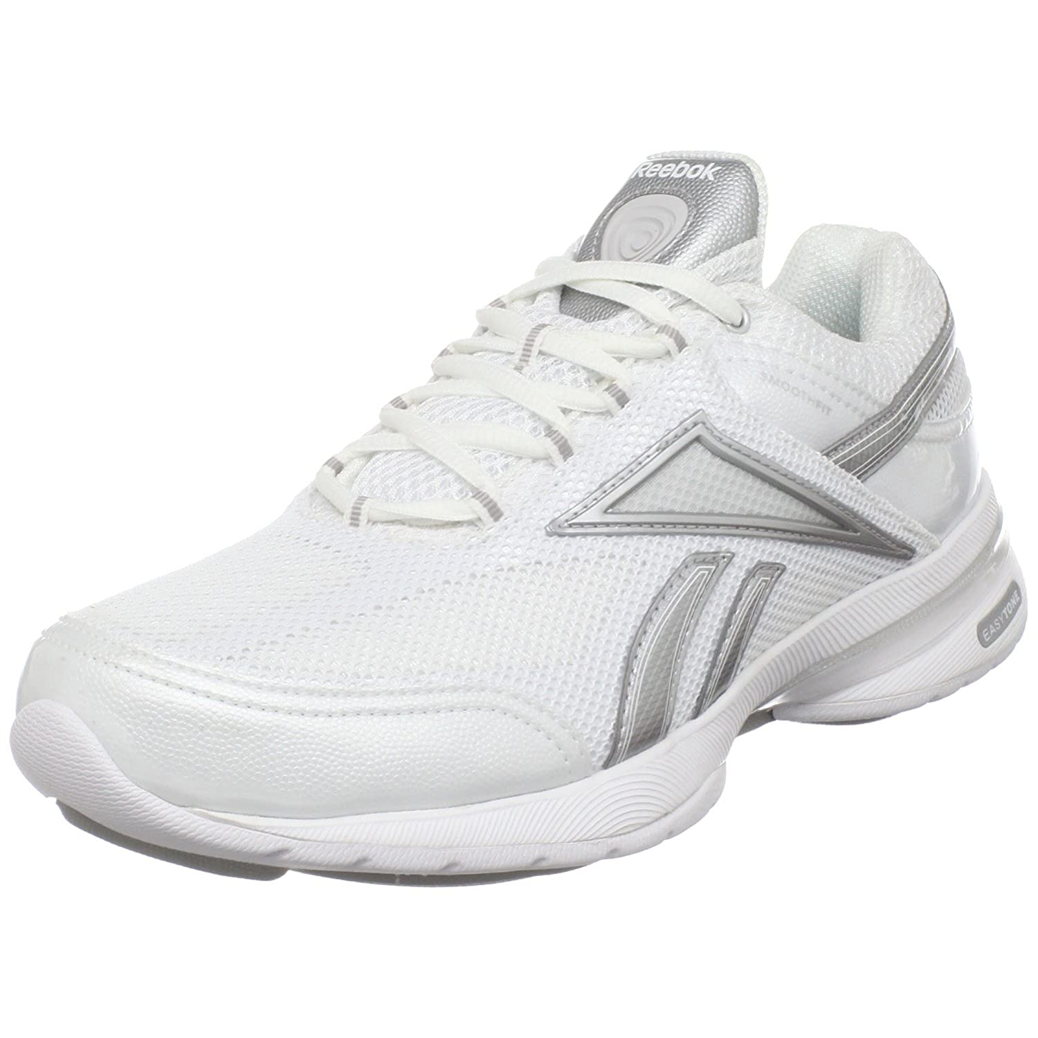 Reebok Women's Easytone Reenew Toner,White/Pure Silver/Steel/Light Grey,10 M US $27.53
