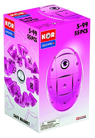 Geomag - 674 - Jeu de Construction - KOR Basic  - Rose