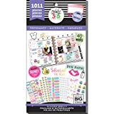 The Happy Planner Sticker Value Pack for Classic Planner - Pregnancy Theme - Multi-Color & Gold Foil - Great for Projects, Scrapbooks & Albums - 30 Sheets, 1011 Stickers Total (Color: Multicolor, Tamaño: Original)