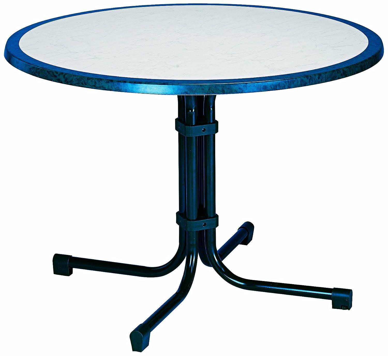 BEST 26531020 Tisch Boulevard rund, Durchmesser 100 cm, blau jetzt kaufen