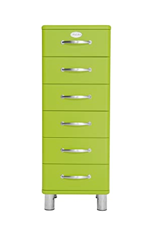 Tenzo 5106-021 Malibu Designer Kommode, MDF lackiert, 111 x 41 x 41 cm, grun