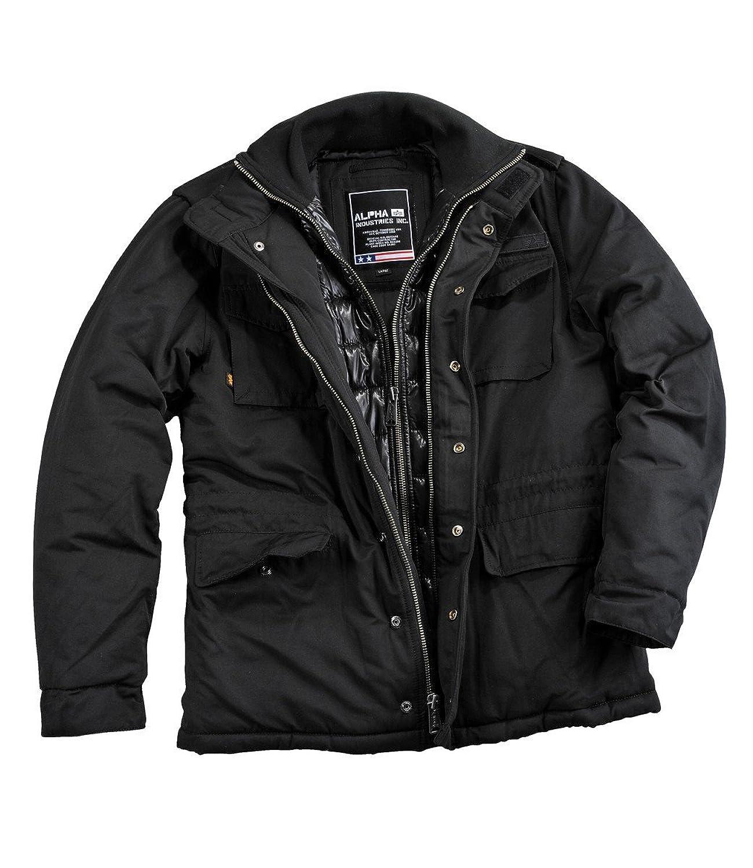 Alpha Industries Forrester Winterjacke Black