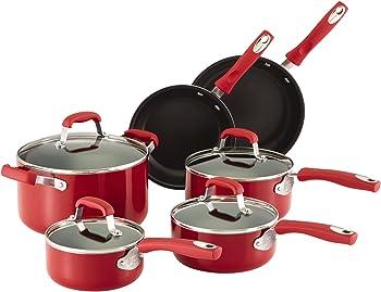 Guy Fieri 10-Pc. Nonstick Cookware Set