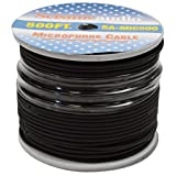 Seismic Audio - SA-MIC500 - Spool of 500 Feet of Microphone Cable - Build Your Own Mic Cables (Color: Black)