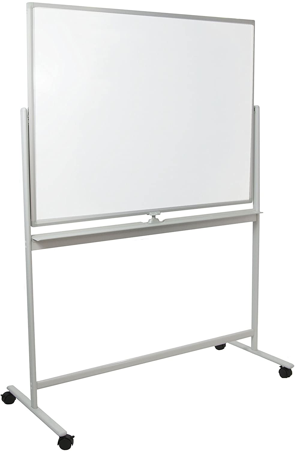 "VIVO Mobile Dry Erase Board (48""x36"") Double Sided Magnetic Whiteboard Aluminum Frame Stand (CART-WB48)"