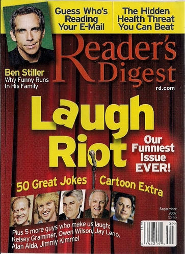 Reader's Digest September 2007